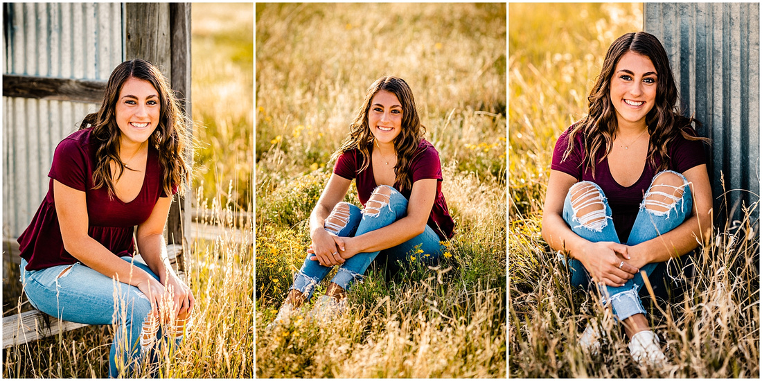 Senior girl photos in Kiowa Colorado