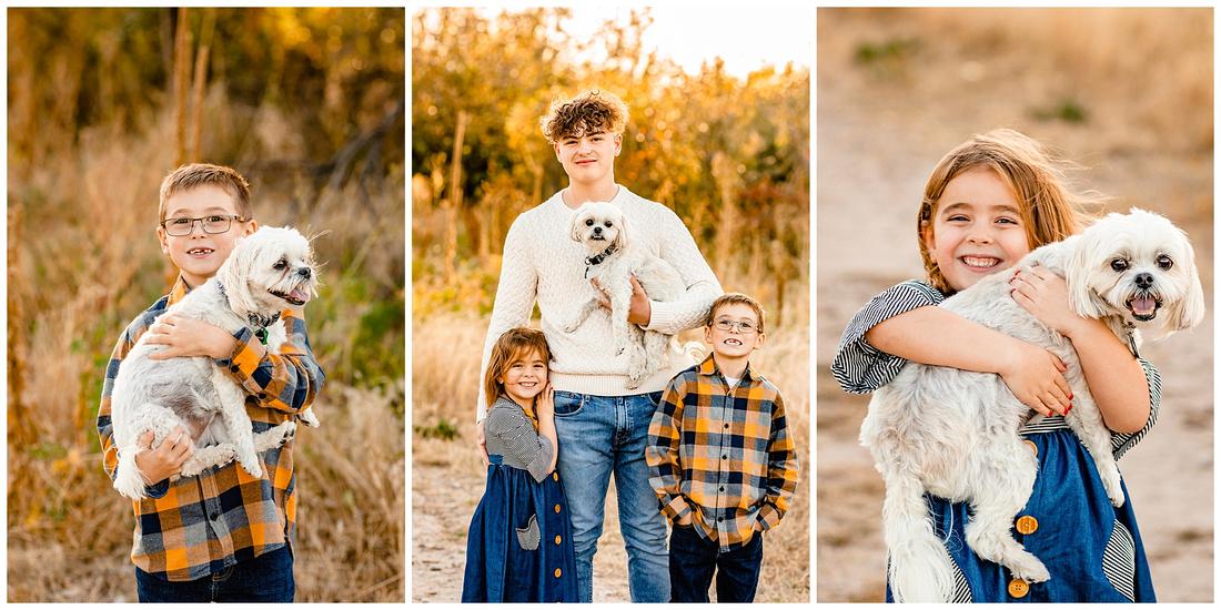 Family photos at McCabe Meadows in Parker, Colorado