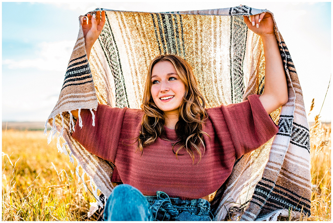 Senior girl photos in Kiowa Colorado