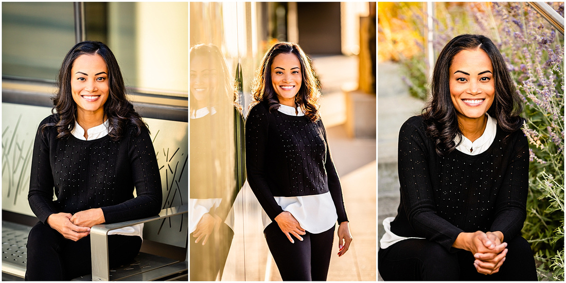 Lifestyle headshots for woman real estate broker.