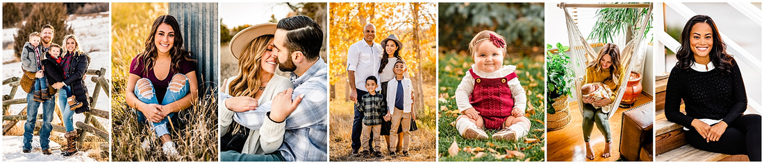 Collage of photos from Laura Smith Photography