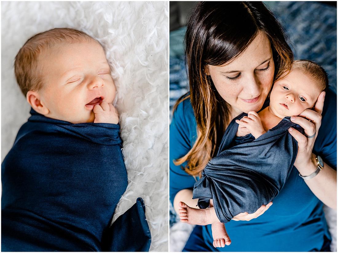 Newborn baby boy photos in Denver, Co